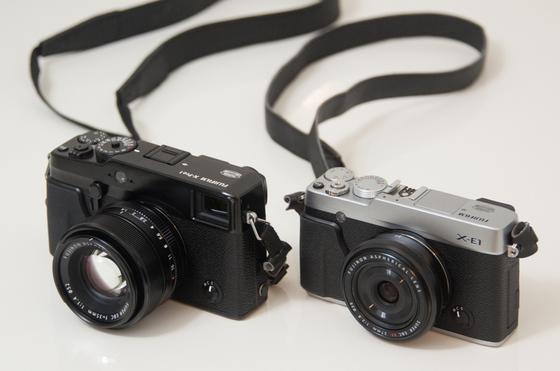XE-1とX-Pro1.jpg